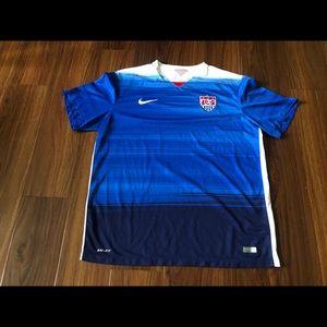 2015 US Soccer USA National Nike Dri-Fit Jersey
